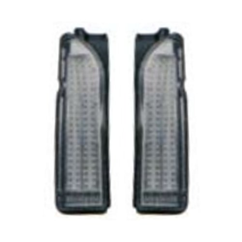 LED CRYSTAL TAIL LAMP SMOKE GRAY