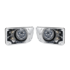 DMAX2014 FOG LAMP CHROME FRAME SET