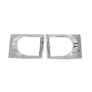 ISUZU 700P HEAD LAMP FRAME CHROMED